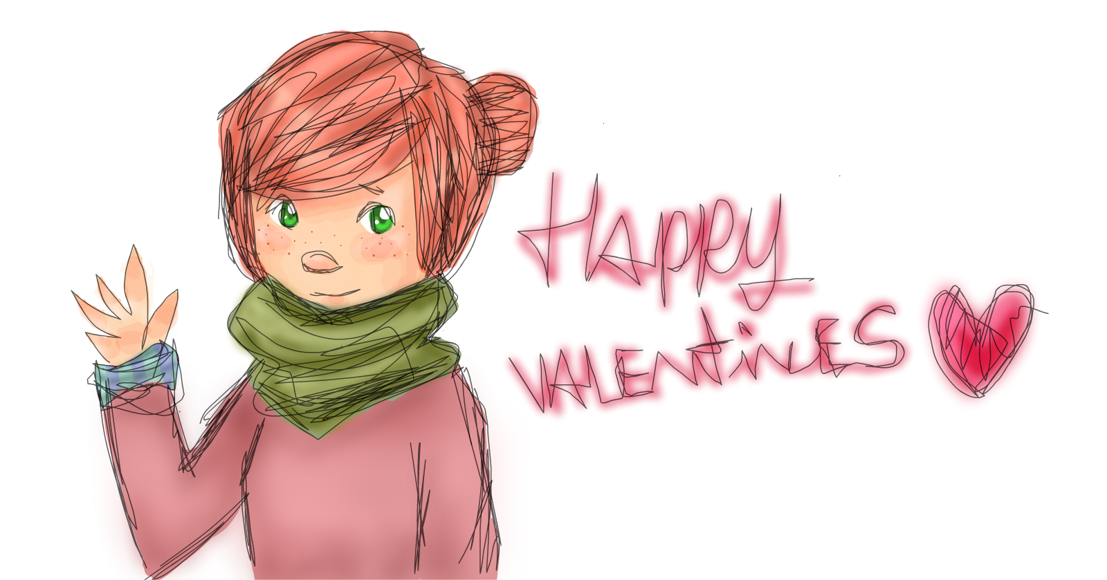 Happy Valentines Day Drawings Sketchport