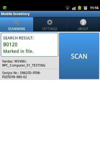 BAR CODE - QR CODE scanner