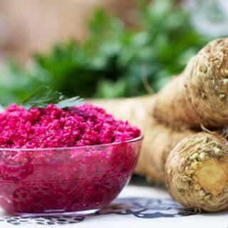 Fresh Horseradish Root Recipes.