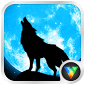 Moon&Wolf live wallpaper