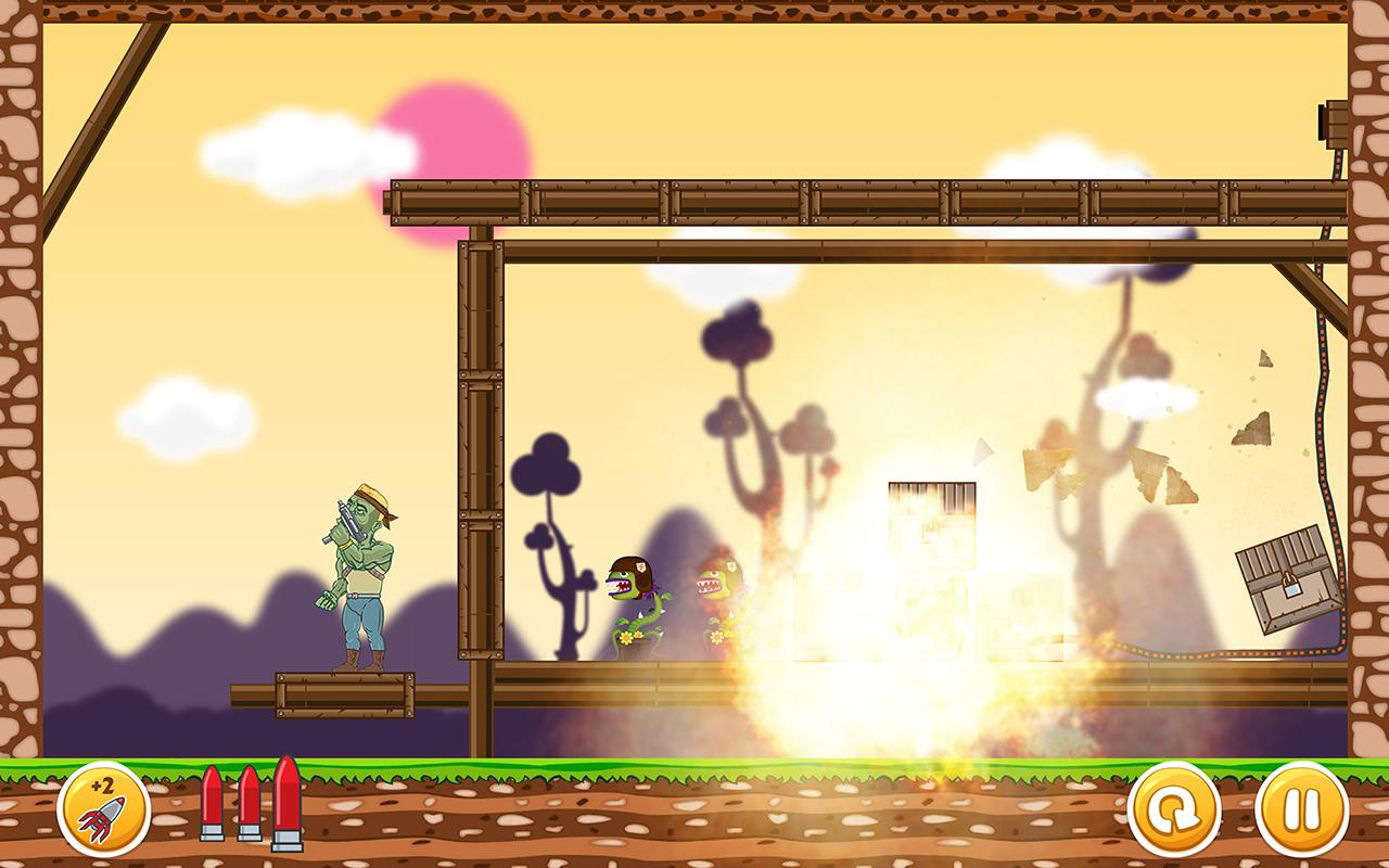 Undead vs. Plants screenshot #2