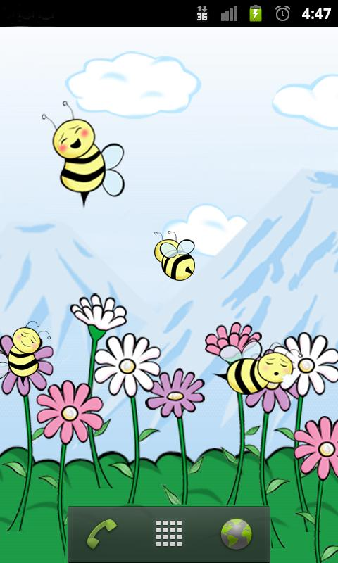 Bumbl Bees! Live Wallpaper- screenshot