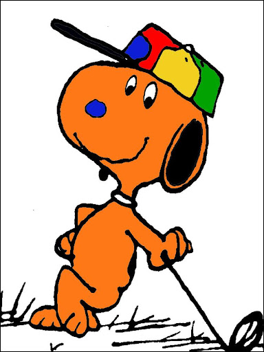 Coloring Book Snoopy Dog