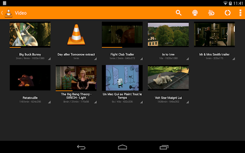 VLC for Android beta: miniatura de captura de pantalla