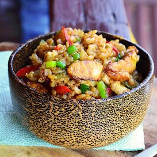 Indonesian Fried Rice - Nasi Goreng.
