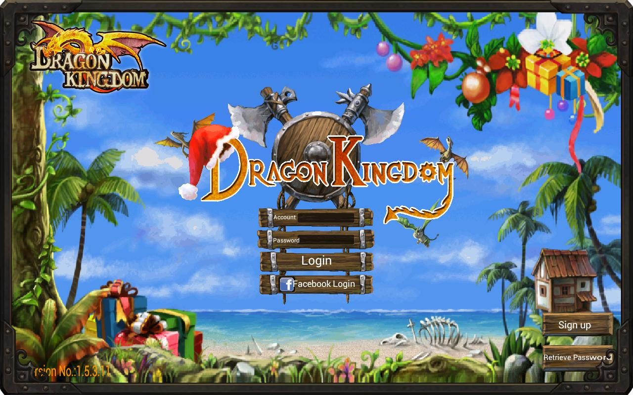 Dragon Kingdom (en)- screenshot