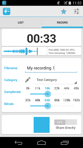 AAC Voice Recorder