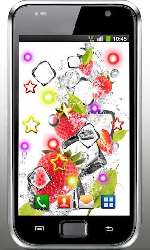 Fruits n Ice HD live wallpaper