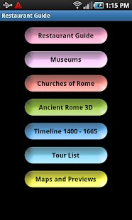 Rome all in one guide - screenshot thumbnail