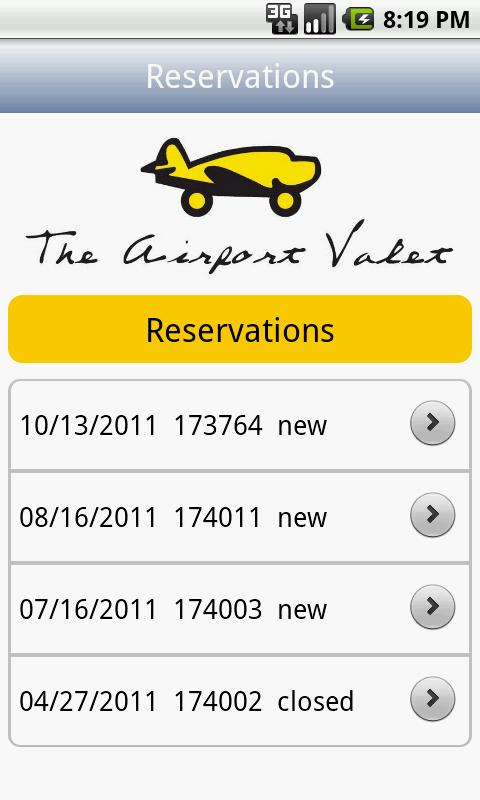 Airport Valet- screenshot