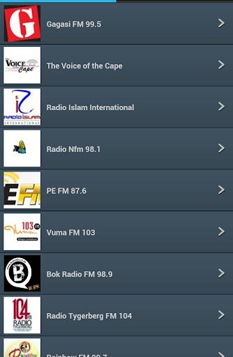 South Africa FM Radio