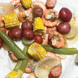 Spicy Shrimp and Sausage Boil.