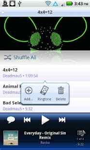 Cloudskipper Music Player - screenshot thumbnail