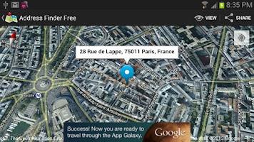 Screenshot of Address Finder (Free)