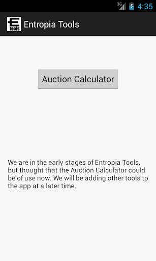 Entropia Tools