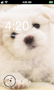 Super Dog Lock Screen
