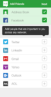 Screenshot of MessageHub™ (Social+Email+SMS)