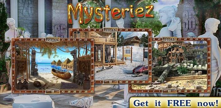 Скачать Mysteriez: Hidden Letters - игра на поиск предметов для Андроид