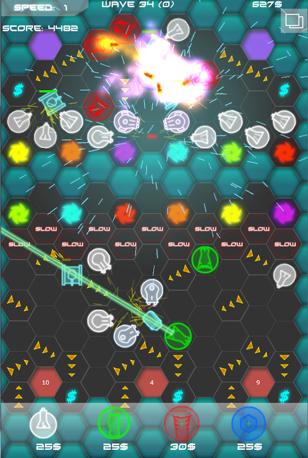 Laser Defense HD- screenshot