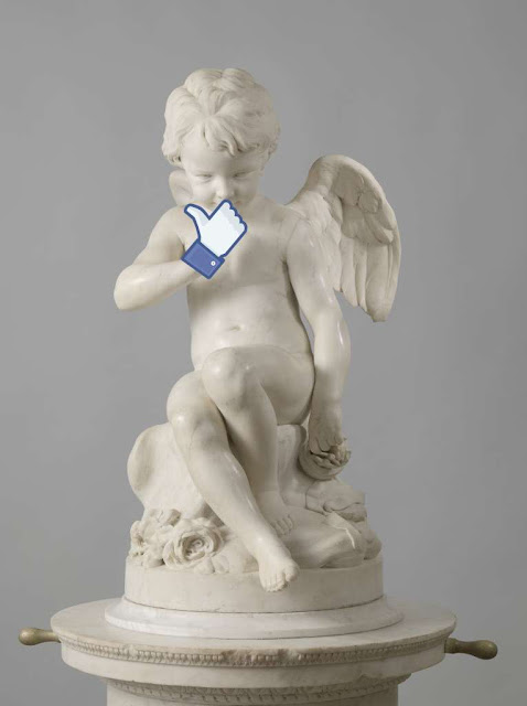 Seated Cupid Facebook
