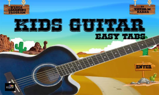 D'Luca Kids Guitar Easy Tabs