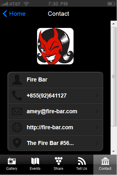Fire Bar - screenshot