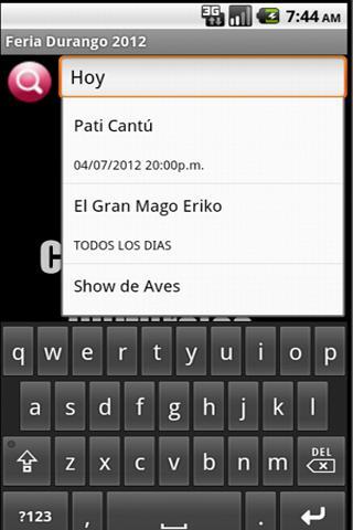 Feria Nacional Durango 2012- screenshot