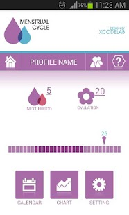Menstrual Cycle - Woman Log - screenshot thumbnail