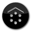 Smart Launcher GSLTHEME Black icon