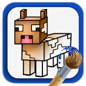 Coloring Book: Minecraft icon