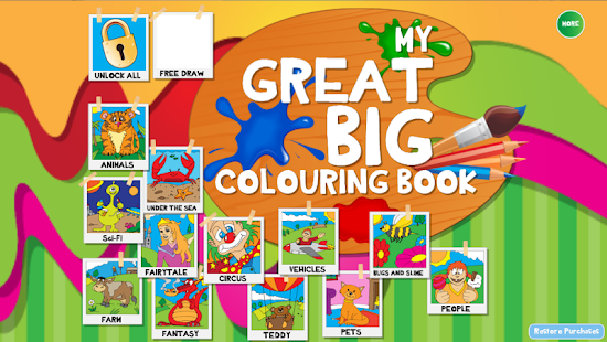 My Great Big Coloring Book App - Android Apps on Google Play