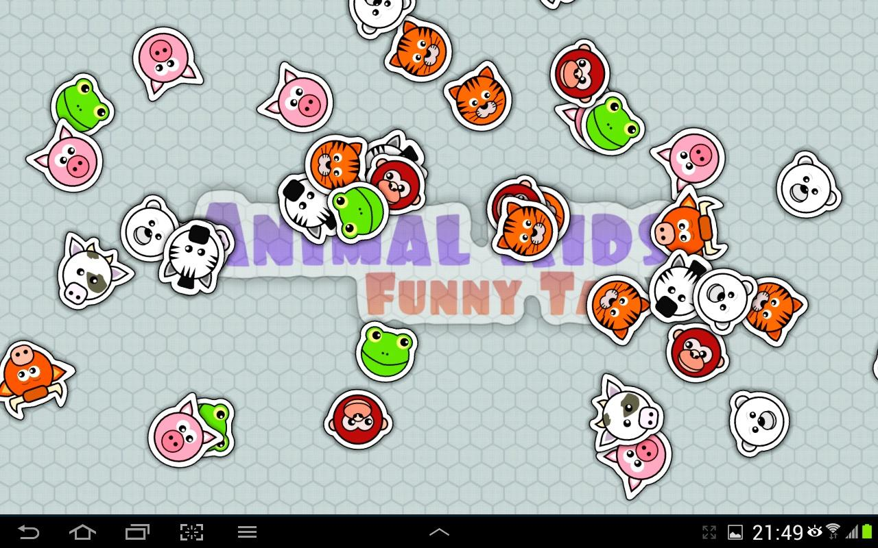Animal Kids Funny Tap- screenshot