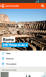 GetYourGuide Tours Activities - screenshot thumbnail
