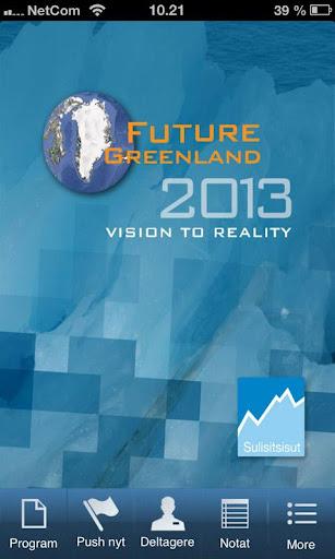 Future Greenland 2013