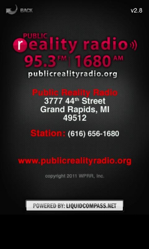 Public Reality Radio- screenshot