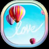 Hope Balloons C Launcher Theme