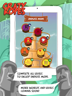Crazy Ropes : The Ninja Escape Screenshot 2
