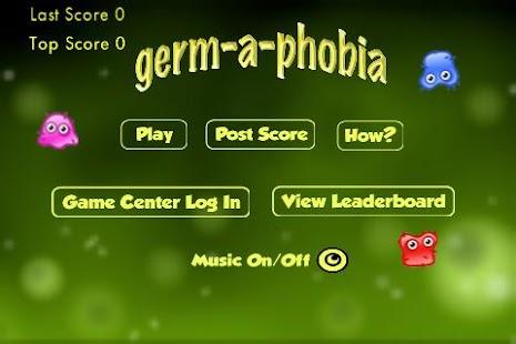 Germ A Phobia- screenshot thumbnail