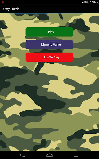 army puzzle games