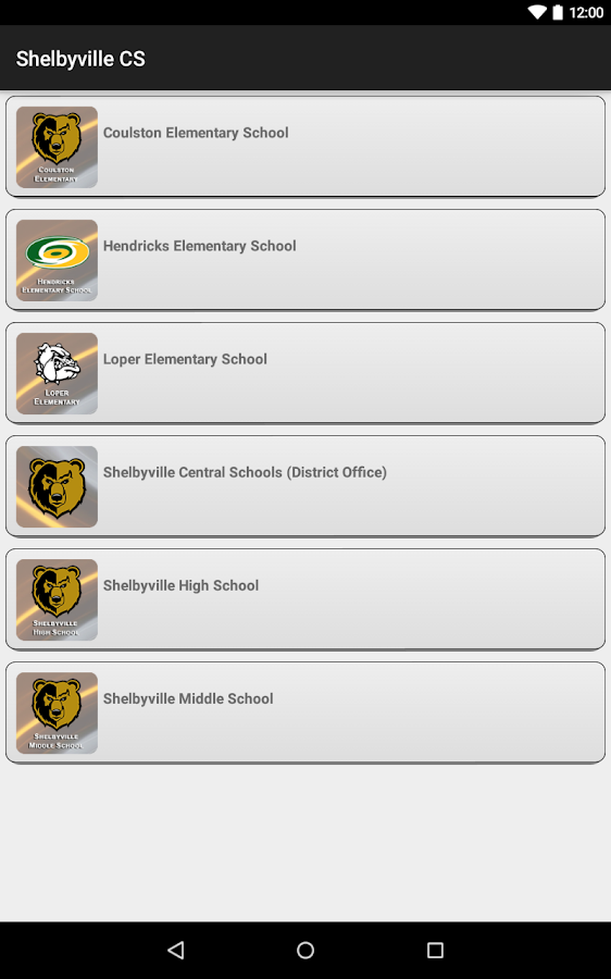 Shelbyville Central Schools- screenshot