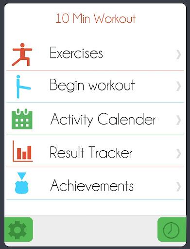 10 Min Workout Challenge Free