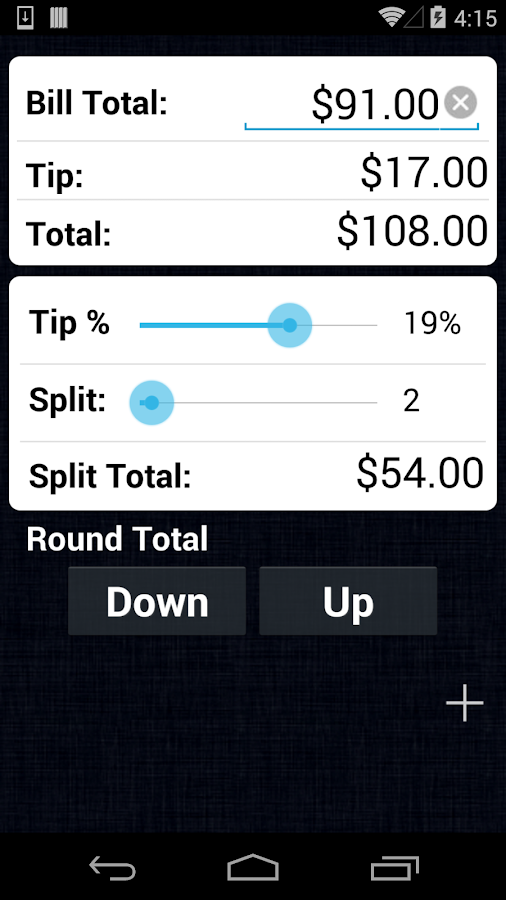 Tip Calculator Pro- screenshot