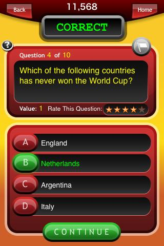 Trivia Burst (Trivia Quiz) - screenshot