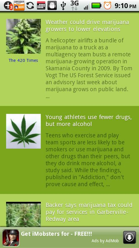 Weed News - screenshot
