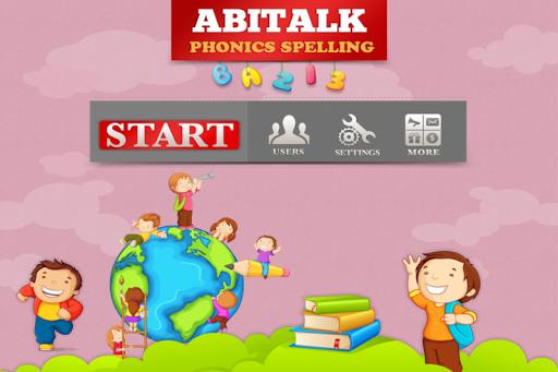 AbiTalk ABC Phonics Spelling