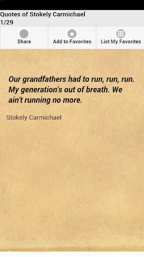 Quotes of Stokely Carmichael