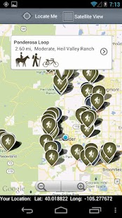 Boulder County Trails- screenshot thumbnail