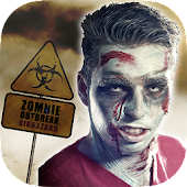 ZombieFaced - Scary Face Maker & Zombie Booth Free