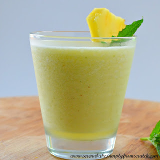 Mango Pineapple Mint Daiquiris
