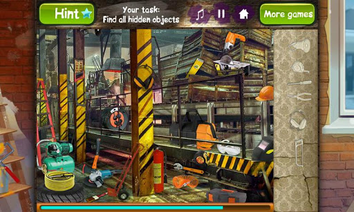 Hidden Objects -Time To Repair